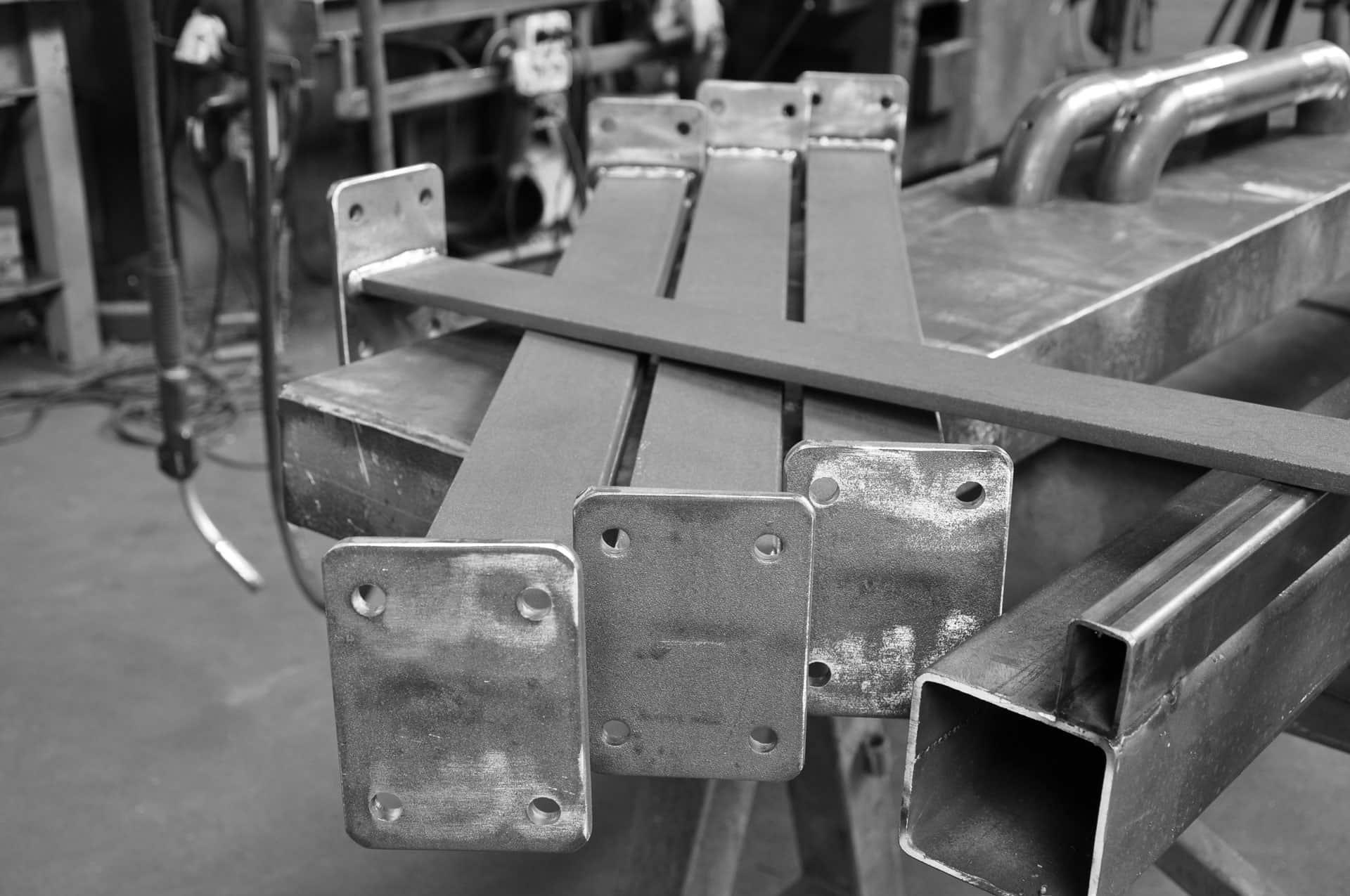 Metalen constructiedelen uitbesteden