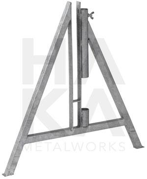 A-frame Zwaar model met ronde paalhouder