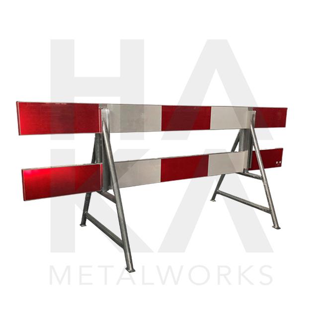 A-frame Licht model TV met ronde paalhouder