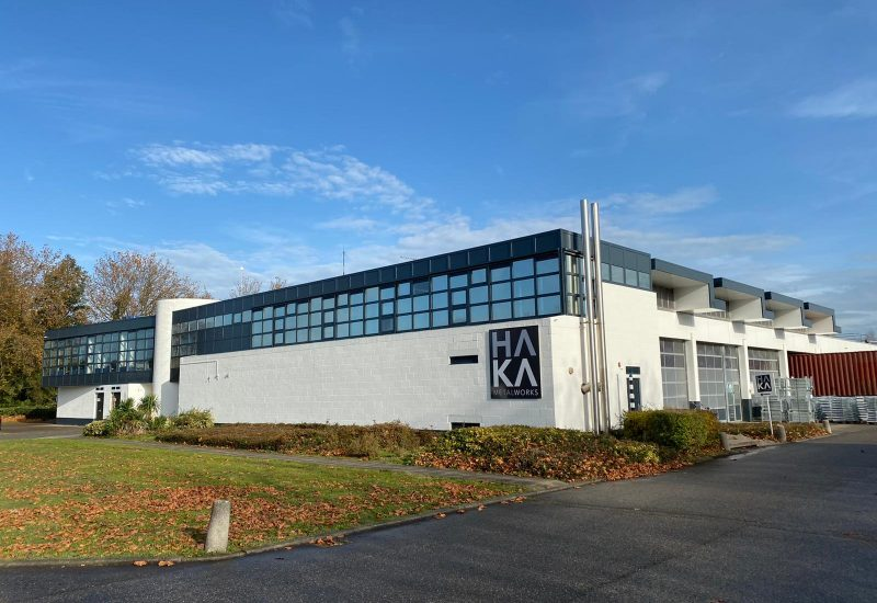 het kantoor en magazijn van HAKA metalworks